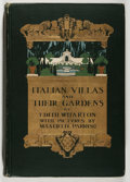 Books:Art & Architecture, [Maxfield Parrish, illustrator]. Edith Wharton. Italian Villasand Their Gardens. New York: Century, 1904. First...