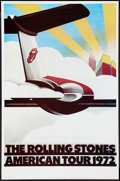 "Movie Posters:Rock and Roll, The Rolling Stones American Tour 1972 (Sunday Promotions, 1972).Posters (25"" X 38"") Rock and Roll.. ..."