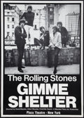 """Movie Posters:Rock and Roll, Gimme Shelter (20th Century Fox, 1970). One Sheet (25"""" X 35""""). Rockand Roll.. ..."""