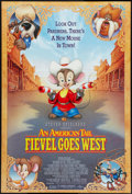"""An American Tail: Fievel Goes West (Universal, 1991). One Sheet (27"""" X 41"""") DS. Animation"""