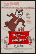 "Movie Posters:Animation, Hey There, It's Yogi Bear and Other Lot (Columbia, 1964). Uncut Pressbooks (2) (10 Pages and 14 Pages, 11"" X 17""). Animation... (Total: 2 Items)"
