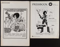 """Movie Posters:Blaxploitation, Cotton Comes to Harlem and Other Lot (United Artists, 1970).Pressbooks (2) (14 Pages, 11"""" X 14"""" and 6 Pages, 11"""" X 17""""). B...(Total: 2 Items)"""