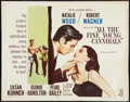 """Movie Posters:Romance, All the Fine Young Cannibals (MGM, 1960). Half Sheet (22"""" X 28""""). Romance.. ..."""