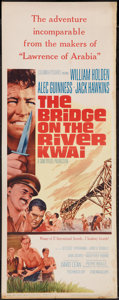 "Movie Posters:War, The Bridge on the River Kwai (Columbia, R-1963). Insert (14"" X36""). War.. ..."
