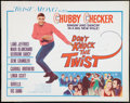 """Movie Posters:Rock and Roll, Don't Knock the Twist (Columbia, 1962). Half Sheet (22"""" X 28"""").Rock and Roll.. ..."""