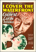 """Movie Posters:Drama, I Cover the Waterfront (United Artists, 1933). One Sheet (27"""" X 41""""). Drama.. ..."""