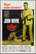 "Movie Posters:Adventure, Hatari! and Others Lot (Paramount, R-1967). One Sheets (3) (27"" X41""). Adventure.. ... (Total: 3 Items)"