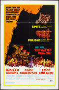 "Movie Posters:War, The Devil's Brigade and Other Lot (United Artists, 1968). OneSheets (2) (27"" X 41""). War.. ... (Total: 2 Items)"