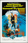 """Movie Posters:James Bond, Diamonds Are Forever (United Artists, 1971). One Sheet (27"""" X 41"""").James Bond.. ..."""