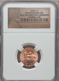2009 1C Professional, First Day Ceremony MS67 Red NGC. NGC Census: (0/0). PCGS Population (0/0). (#407853)...(PCGS# 4078...