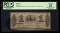 Obsoletes By State:Florida, Tallahassee, Florida Territory- Tallahassee Post Office $1 Circa 1837-39 Benice 105. ...