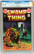 Bronze Age (1970-1979):Horror, Swamp Thing #4 (DC, 1973) CGC NM- 9.2 Off-white pages....