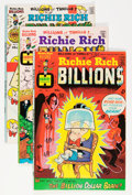 Bronze Age (1970-1979):Cartoon Character, Richie Rich Billions File Copy Short Box Group (Harvey, 1974-82) Condition: Average NM-....