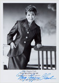 Books:Mystery & Detective Fiction, Mary Higgins Clark (1927-, American Author). Signed PromotionalPhoto. [N.p., n.d., ca. 1998]. Approximately 7 x 5 inches. ...