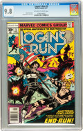 Bronze Age (1970-1979):Adventure, Logan's Run #5 (Marvel, 1977) CGC NM/MT 9.8 Off-white to white pages....