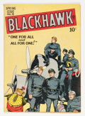 Golden Age (1938-1955):War, Blackhawk #18 (Quality, 1948) Condition: VF....