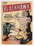 Golden Age (1938-1955):War, Blackhawk #20 (Quality, 1948) Condition: VG+....