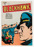 Golden Age (1938-1955):War, Blackhawk #27 (Quality, 1949) Condition: FN-....