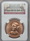 (2009) Medal Bronze Margaret Taylor Brilliant Uncirculated NGC. Ex: First Spouse Series. NGC Census: (0/0). PCGS Populat...