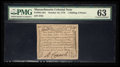 Colonial Notes:Massachusetts, Massachusetts October 16, 1778 1s 6d PMG Choice Uncirculated 63.....