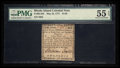 Colonial Notes:Rhode Island, Rhode Island May 22, 1777 $1/36 PMG About Uncirculated 55 EPQ.. ...