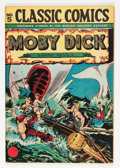 Golden Age (1938-1955):Adventure, Classic Comics #5 Moby Dick HRN 28 (Gilberton, 1946) Condition: Qualified NM....