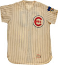 "Baseball Collectibles:Uniforms, 1961 Lou Klein ""College of Coaches"" Game Worn Chicago Cubs Jersey...."