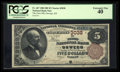 National Bank Notes:Kansas, Oswego, KS - $5 1882 Brown Back Fr. 467 The First NB Ch. # 3038. ...