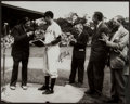 Baseball Collectibles:Photos, George H.W. Bush Signed Oversized Photograph - Pictured with BabeRuth. ...