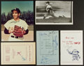 Autographs:Others, Yankee Greats Signed Photographs And Programs Including Mantle....
