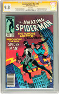 Modern Age (1980-Present):Superhero, The Amazing Spider-Man #252 Signed by Stan Lee and Ron Frenz(Marvel, 1984) CGC Signature Series NM/MT 9.8 White pages....