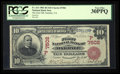 National Bank Notes:California, Oakdale, CA - $10 1902 Red Seal Fr. 613 The First NB Ch. # (P)7502. ...