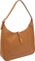 Luxury Accessories:Bags, Hermes 31cm Natural Fjord Leather Trim Bag with Gold Hardware. ...
