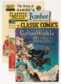 Golden Age (1938-1955):Classics Illustrated, Classics Illustrated Group (Gilberton, 1943-60) Condition: AverageGD/VG.... (Total: 15 Comic Books)