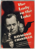 Books:Mystery & Detective Fiction, [Photoplay Edition]. Raymond Chandler. The Lady in the Lake.New York: Grosset & Dunlap. Photoplay edition. Octavo. ...