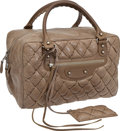 Luxury Accessories:Bags, Balenciaga Matelasse Quilted Bowling Bag. ... (Total: 2 Items)