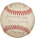 Autographs:Baseballs, 1942 Chicago Cubs Team Signed Baseball....