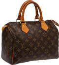 Luxury Accessories:Bags, Louis Vuitton Speedy 25 Monogram Canvas. ... (Total: 2 Items)