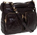 Luxury Accessories:Bags, Louis Vuitton Large Black Leather Limited Edition Bag. ...