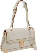Luxury Accessories:Bags, Louis Vuitton White Suhali Le Talenteux Shoulder Bag. ...