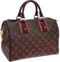 Luxury Accessories:Bags, Louis Vuitton Show Collection Red Monogram Mirage Speedy 30 Bag....
