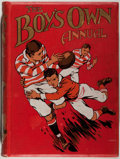 """Books:Children's Books, [Children's Literature]. The Boy's Own Annual. London:""""Boy's Own Paper"""", 1912-1913. First edition of the thirty..."""