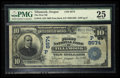 National Bank Notes:Oregon, Tillamook, OR - $10 1902 Date Back Fr. 618 The First NB Ch. # (P)8574. ...