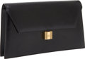 Luxury Accessories:Bags, Hermes Black Calf Box Leather Kelly Lock Classic Clutch with GoldHardware. ... (Total: 4 Items)