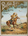 "Western Expansion:Cowboy, Buffalo Bill's Wild West: The Sought-After Classic ""White Eagle""Poster. ..."