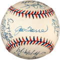 Baseball Collectibles:Balls, 1997 American League All Stars Team Signed Baseball (30 Signatures)....