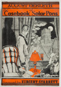 Books:Mystery & Detective Fiction, August Derleth. The Casebook of Solar Pons. Sauk City:Mycroft & Moran, 1965. First edition, first printing.Twelvem...