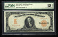 Large Size:Gold Certificates, Fr. 1172 $10 1907 Gold Certificate PMG Choice Extremely Fine 45 EPQ.. ...