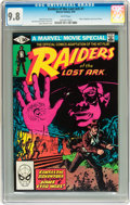 Modern Age (1980-Present):Miscellaneous, Raiders of the Lost Ark #1 CGC-Graded Croup (Marvel, 1981) CGC NM/MT 9.8 White pages.... (Total: 5 Comic Books)
