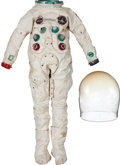 Transportation:Space Exploration, Apollo-Era Movie Prop: A7L-Style Spacesuit Worn by David Janssen inthe 1969 Film Marooned.... (Total: 2 Items)